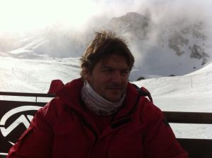 un servidor ...en las montañas nevadas de Ordino
