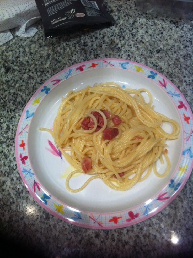 Sin duda alguna los mejores espaguetis del mundo...y de largo