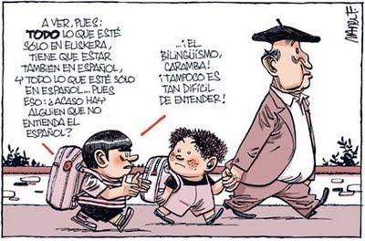 Bilinguismo...gran chiste este...y tristemente real