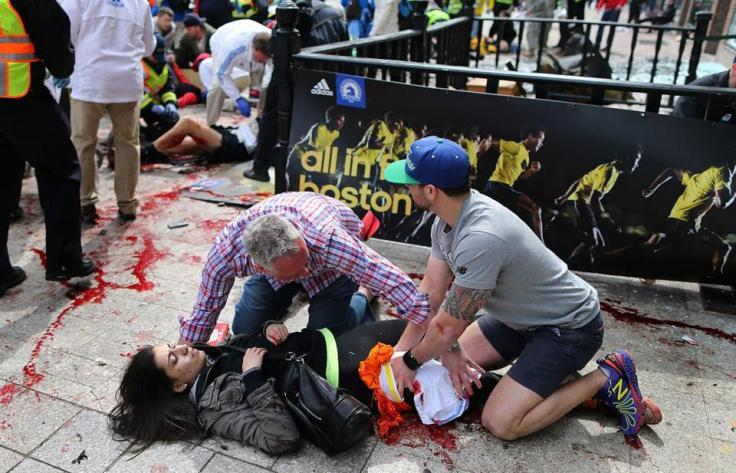 Foto sacada de la portada del Boston Globe (Jhon Tlumack,Globe staff)