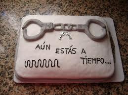 A los que vais a pasar por el matrimonio...mirad este pastel....AUN ESTIAS A TIEEEEEEEMPO