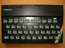 Un spectrum...era lo mas de lo mas en tecnologia