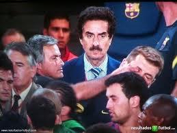 La máxima expresión del Madridismo.. versión Mou, es meter el dedo en el ojo del eterno rival