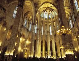 Santa Maria del Mar (interior) Barcelona