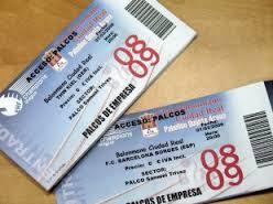 Tickets para el baloncesto