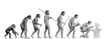Fuente: http://onelawclock.blogspot.com.es/ La evolucion general del hombre