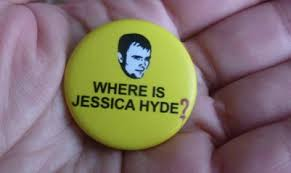 Where is Jessica Hyde? frase mitica en la serie UTOPIA, si podeis no os la perdais, genial
