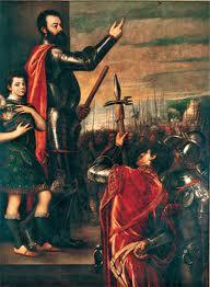 Alocucion del Marques del Vasto a sus soldados de Tiziano ...en esta me pillaron, no tenia ni idea