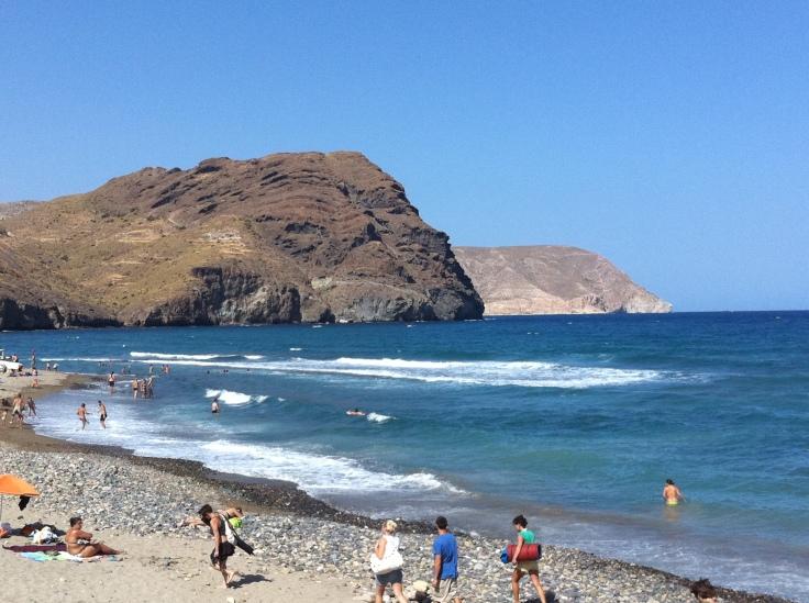 Playa de las Negras (Cabo de Gata, Almeia) un paraiso