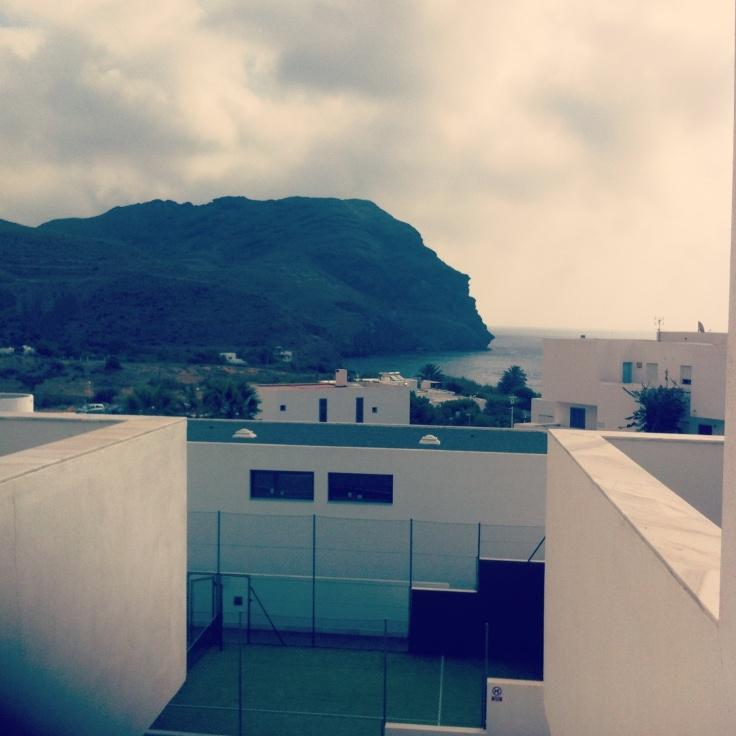 El cerro Negro...una imagen relajante de Las Negras