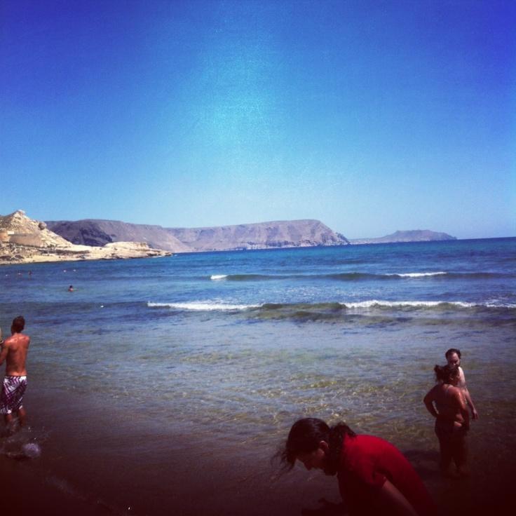 El playazo...en mi Instagram...relax y playa