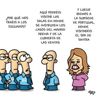 Los juzgados otra subsede olimpica en la España del Pelotazo