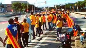 Segun el PP una minoria se manifesto...una minoria de mas de 1 millon de catalanes que nos manifestamos y unimos nuestra tierra con nuestras manos, de punta a punta
