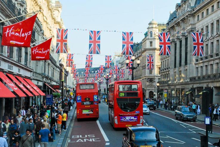 Regents Street, Londres