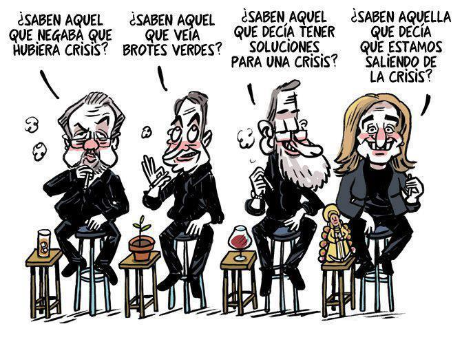 MAL CHISTE DE LA CRISIS, SI YO FUERA PRESIDENTE, DE XAVIER VALDERAS