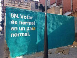 El #9N espero poder volver a votar..y decidir