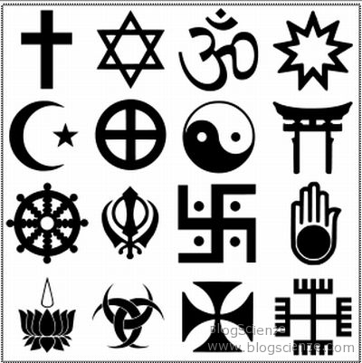 distintas religiones....no creo en ninguna