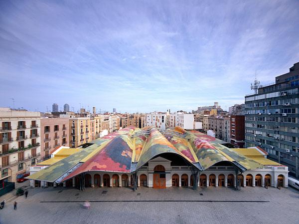 El mercat de Santa Caterina...tal y como es en la actualidad.