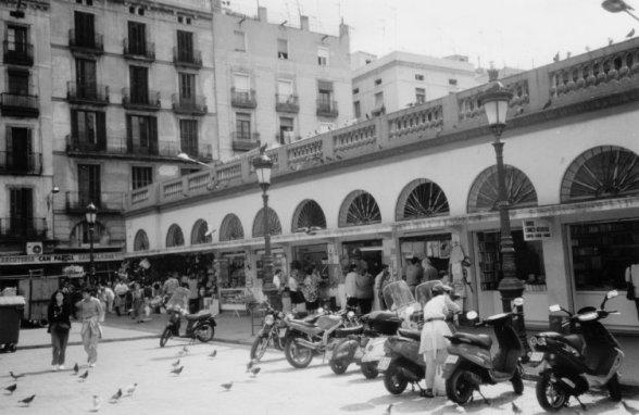 El mercat de Santa Caterina...tal y como era cuando yo vivia alli al lado