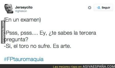AVE_26049_educacion_prepara_el_fp_de_tauromaquia_las_mejores_reacciones_en_twitter