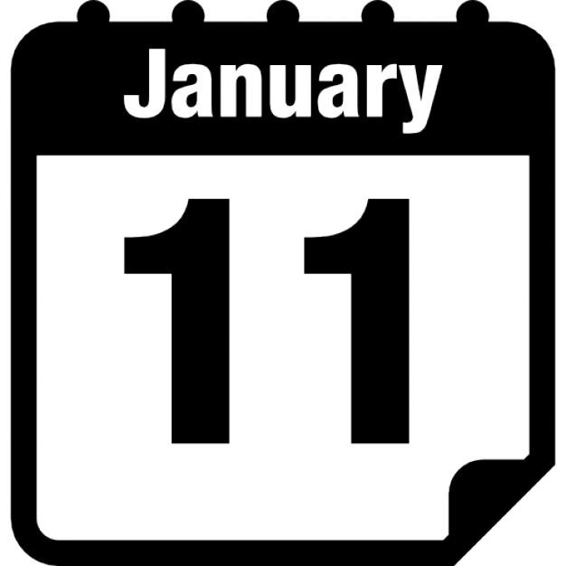 pagina-de-calendario-diario-de-11-de-enero_318-58078