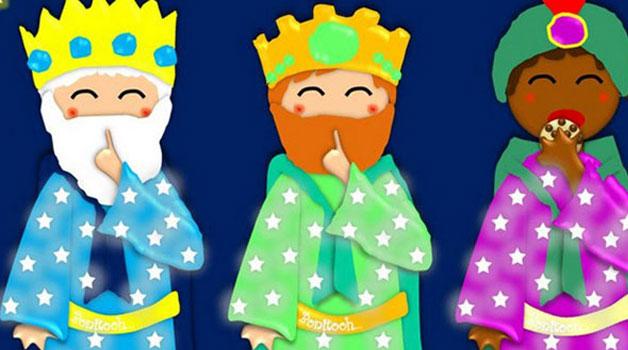 Los Reyes Magos...solo os pedimos una cosa.... GUARDARNOS EL SECRETO tanto tiempo como sea posible